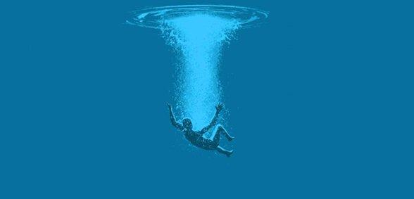 Spring in het diepe, of word in het diepe gegooid?