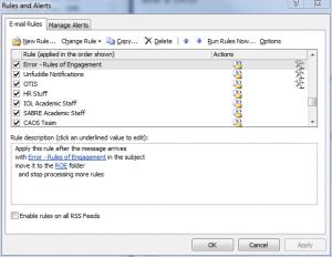 Gebruik Outlook filters om de baas te blijven in eigen inbox