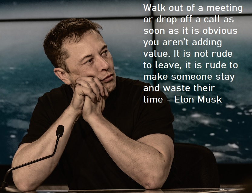 Managen zoals Elon Musk   (source https://www.flickr.com/photos/163370954@N08/46339127625)
